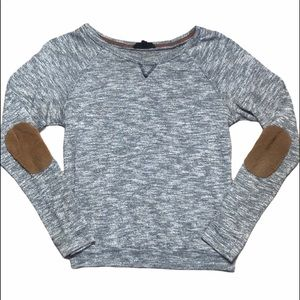Iris LosAngeles Light Weight Patched Elbow Sweater